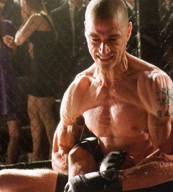 Matthew Fox shirtless muslces