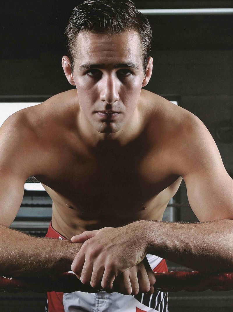 Rory MacDonald no shirt
