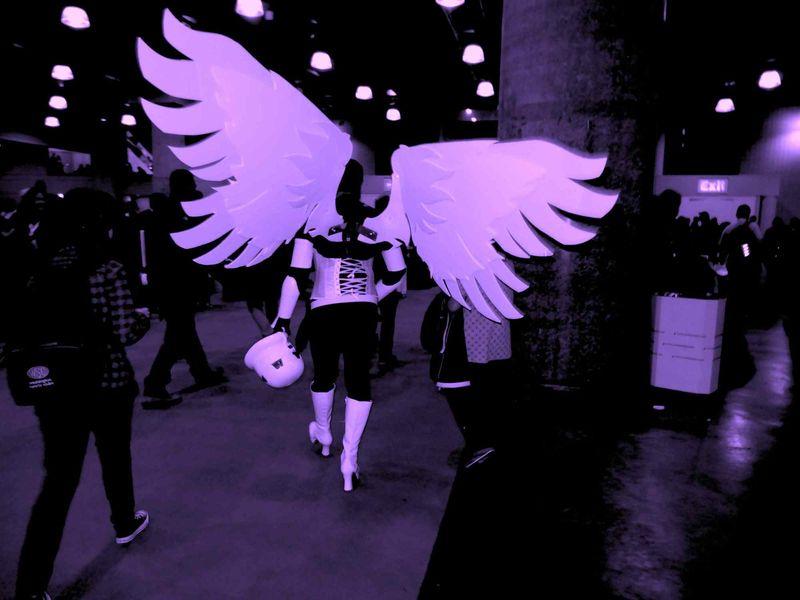 Comic Con wings