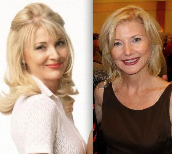 *Beth Broderick then now