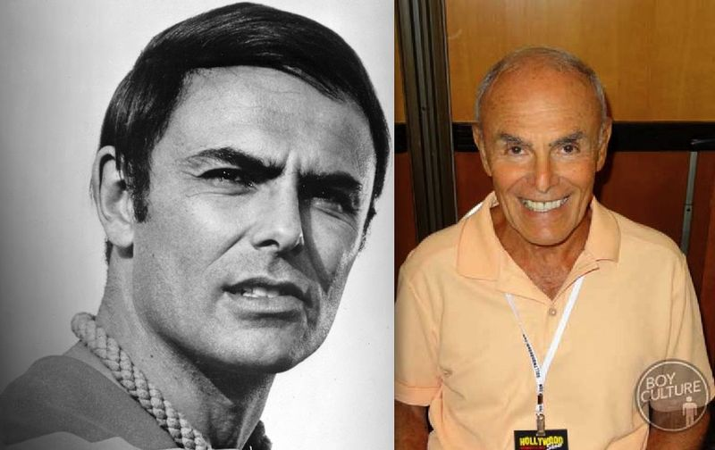 *John Saxon then now