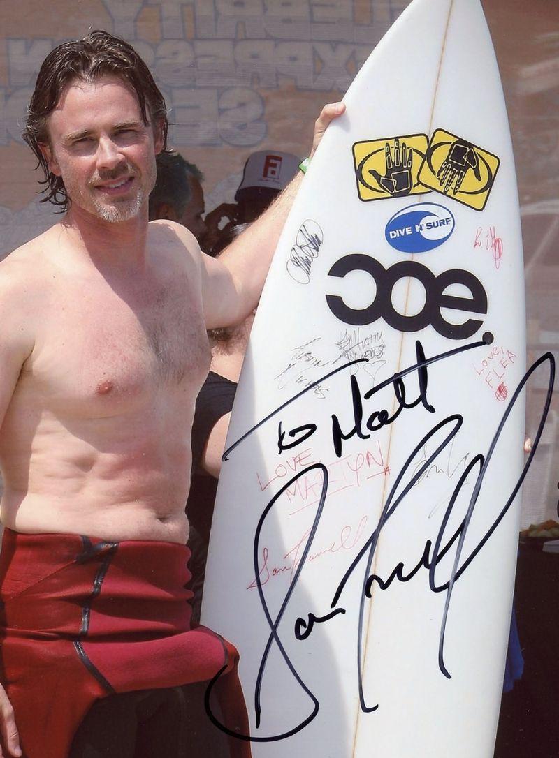 Sam Trammell autograph