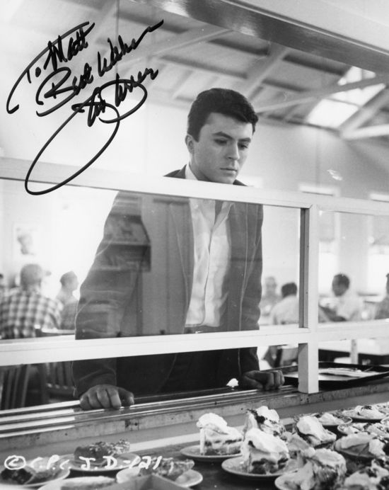 * James Darren autograph