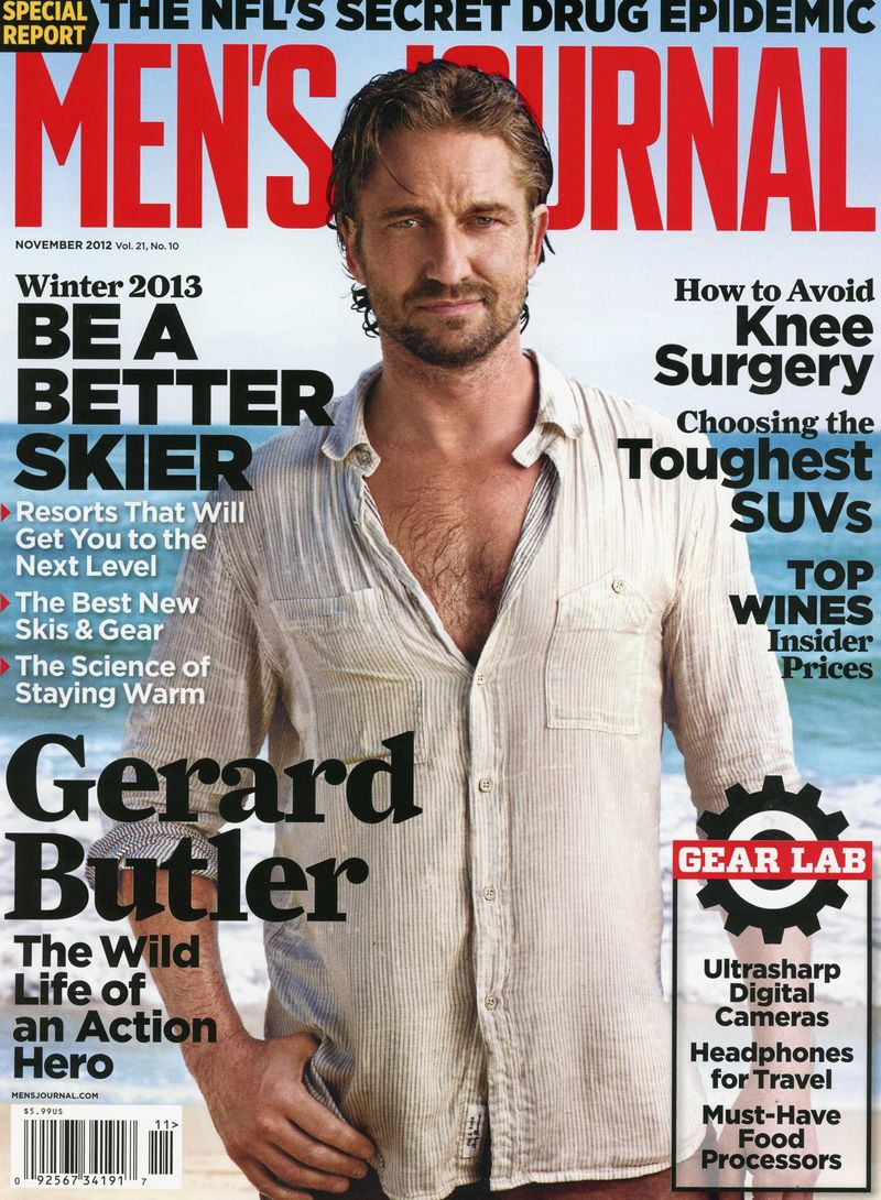 Gerard Butler Mens Journal
