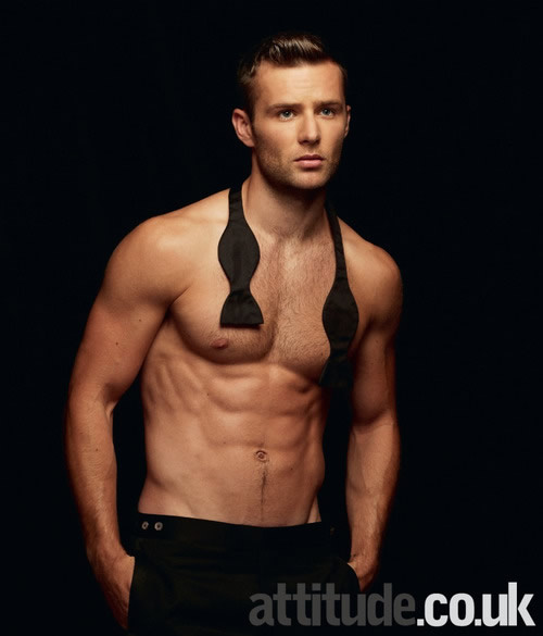 Harry Judd shirtless