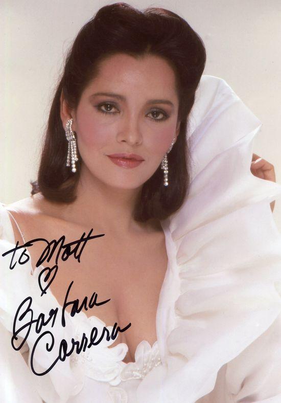 Barbara Carrera autograph