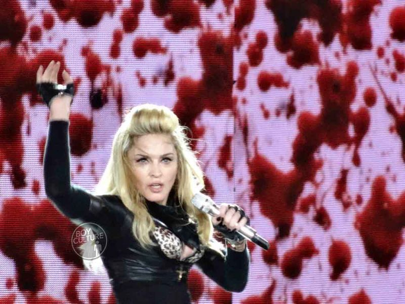 Madonna MDNA Yankee 14