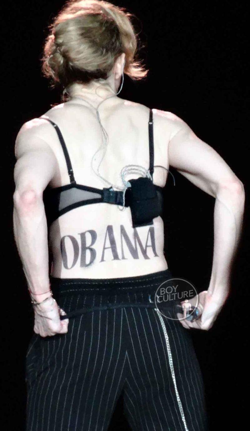 Madonna MDNA Yankee 46