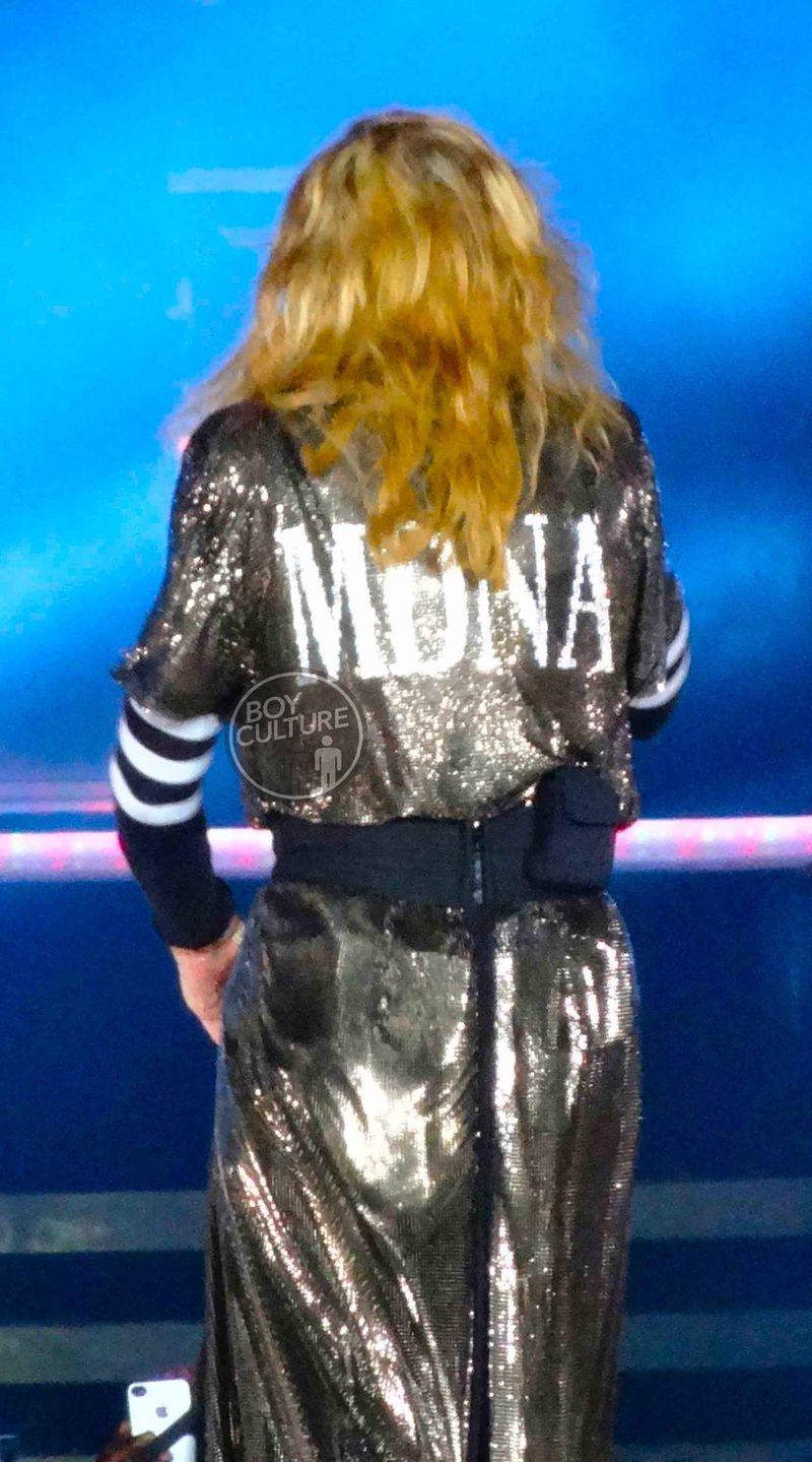 Madonna MDNA Yankee 54