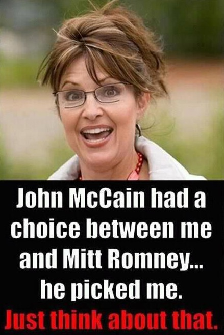 Obama Sarah Palin Mitt Romney