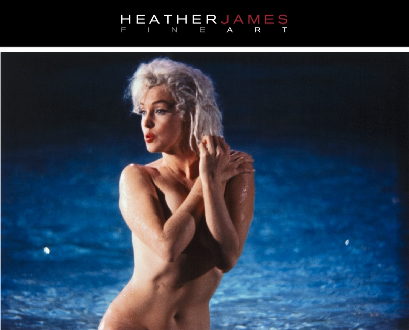 Heather James DOT COM Marilyn Monroe Lawrence Schiller art
