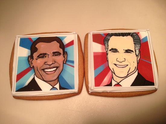 Barack-Obama-Mitt-Romney-cookies