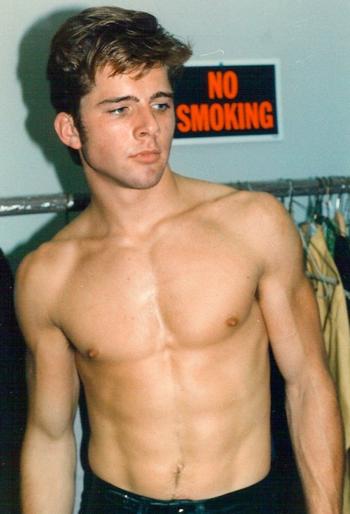 Maxwell-Caulfield-shirtless-backstage-play