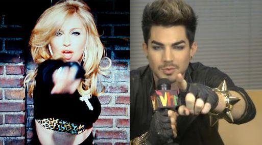 Madonna-Adam-Lambert