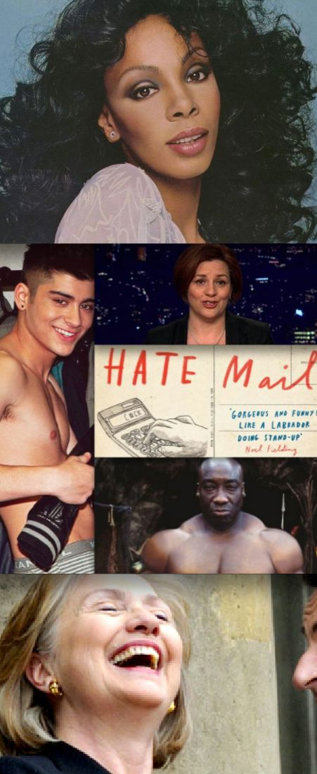 One-Direction-shirtless-Zayn-Malik-Donna-Summer-Hillary-Clinton-Christine-Quinn
