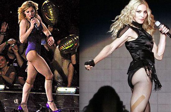 Madonna-buttocks