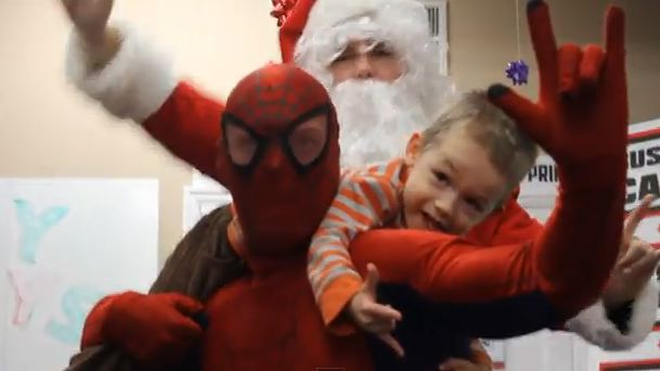 Spider-Man-Christmas