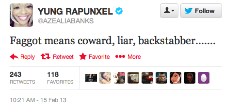 Azealia-Banks-anti-gay-faggot-Perez-Hilton