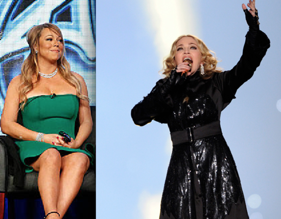Madonna-Mariah