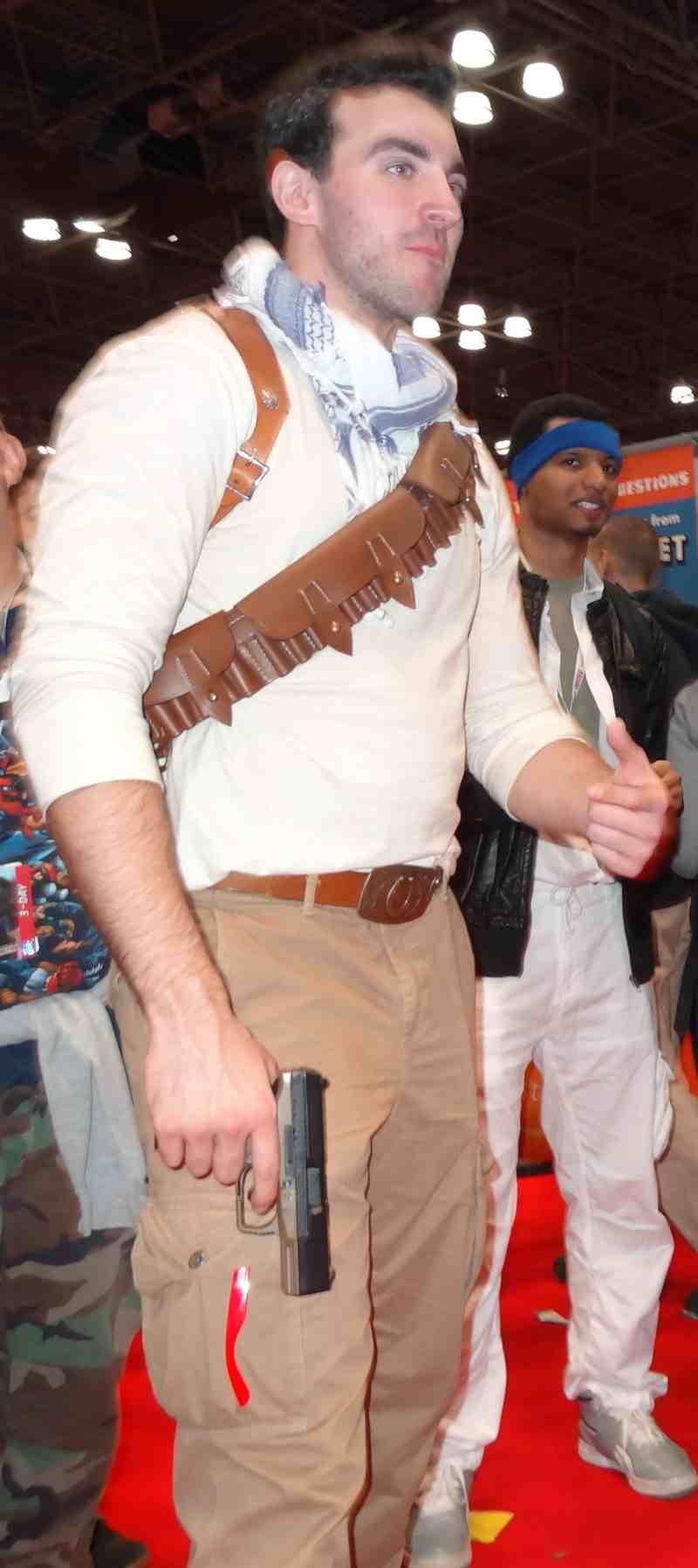 *hot man as Han Solo