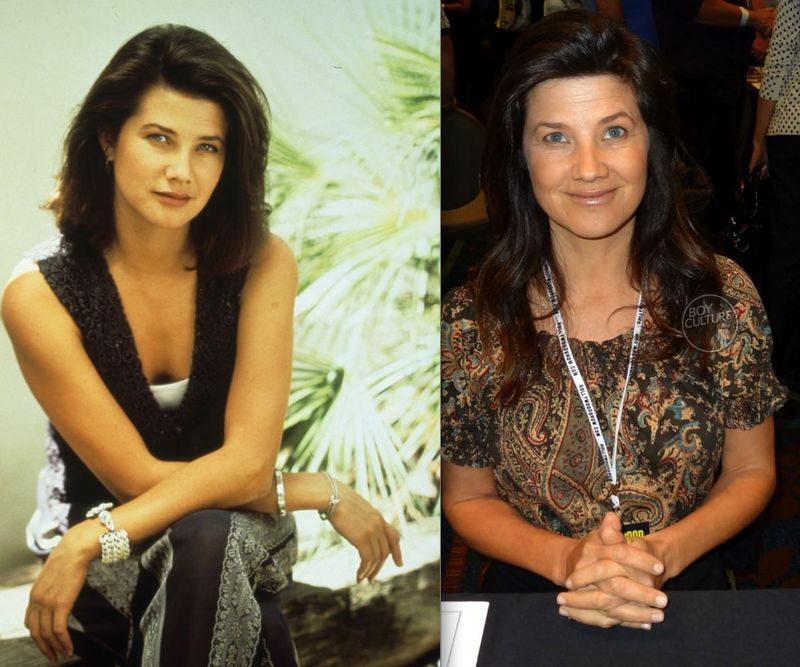 *Daphne Zuniga then now