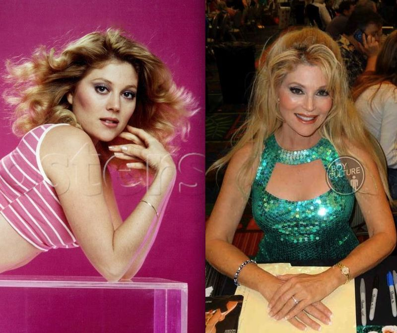 *Audrey Landers then now