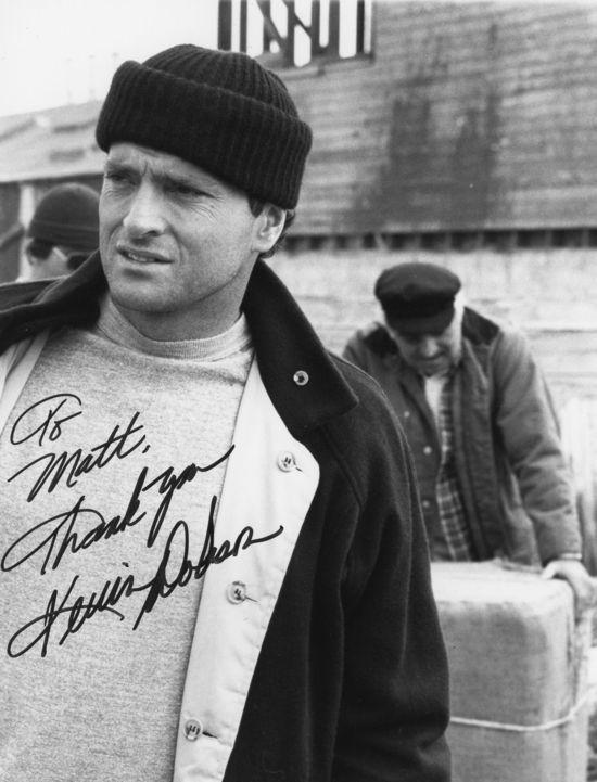 *Kevin Dobson autograph