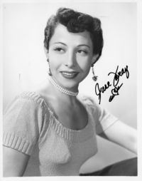 June Foray autograph