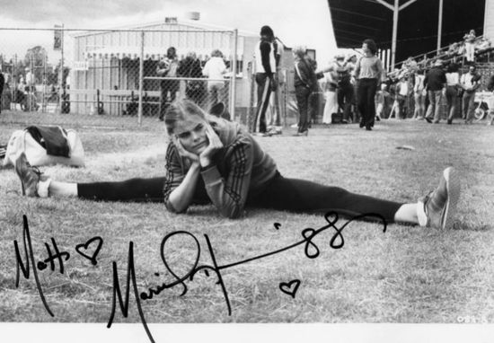 Mariel Hemingway autograph