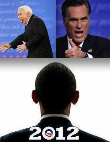 Obama defeats Romney and McCain