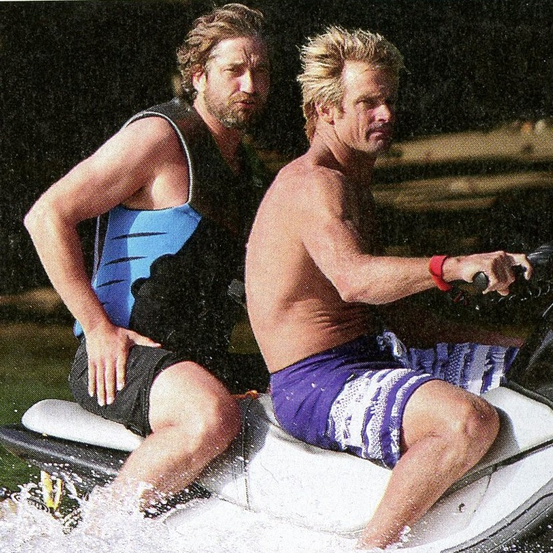 Gerard Butler water sports