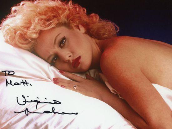 Virginia Madsen autograph