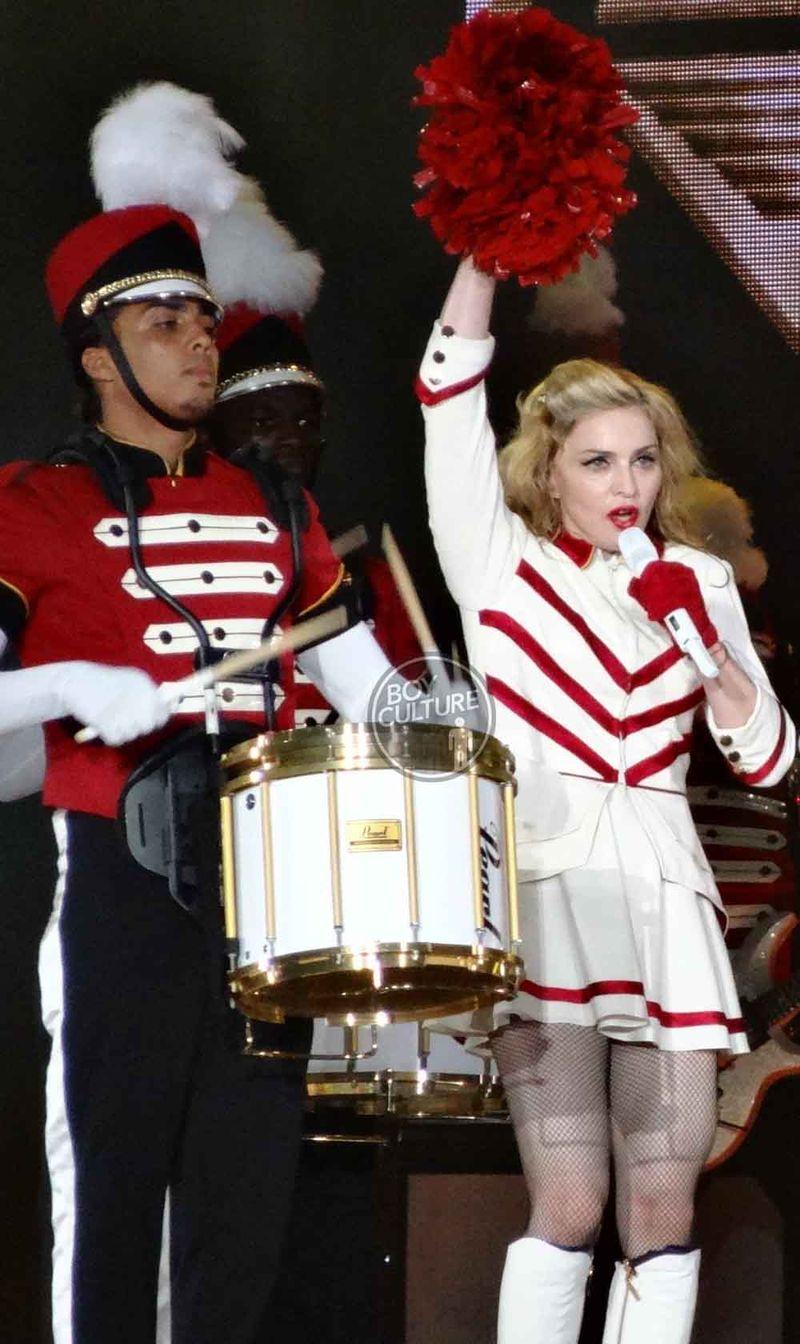 Madonna MDNA Yankee 22