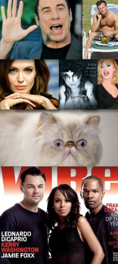 Scientology-Travolta-massage-McFly-shirtless-Angelina-Jolie-cats-Django-Pandora-Boxx