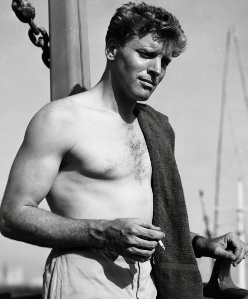 Sexy-Burt-Lancaster-shirtless