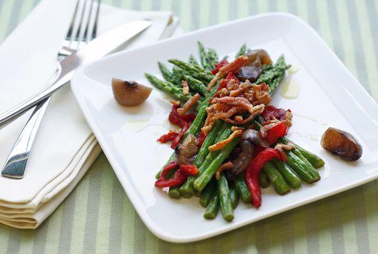 Asaparagus Salad Pancetta