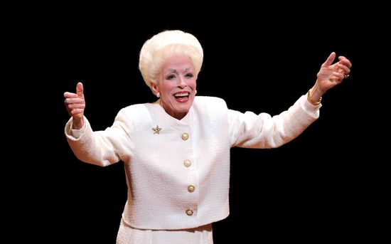 Holland Taylor as ann richards on broadway