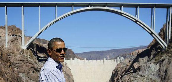 Obama Hoover Dam