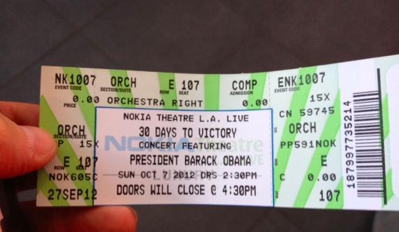 * ticket