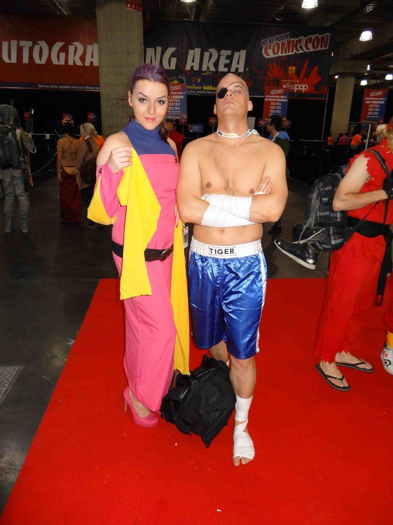 Comic Con shirtless boxer