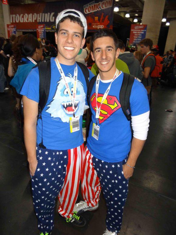Comic Con cute boys