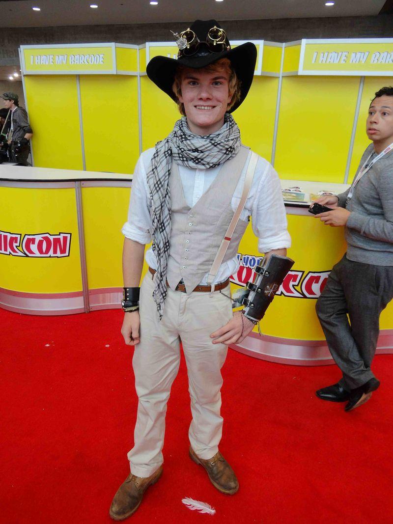 Comic Con cute cowboy