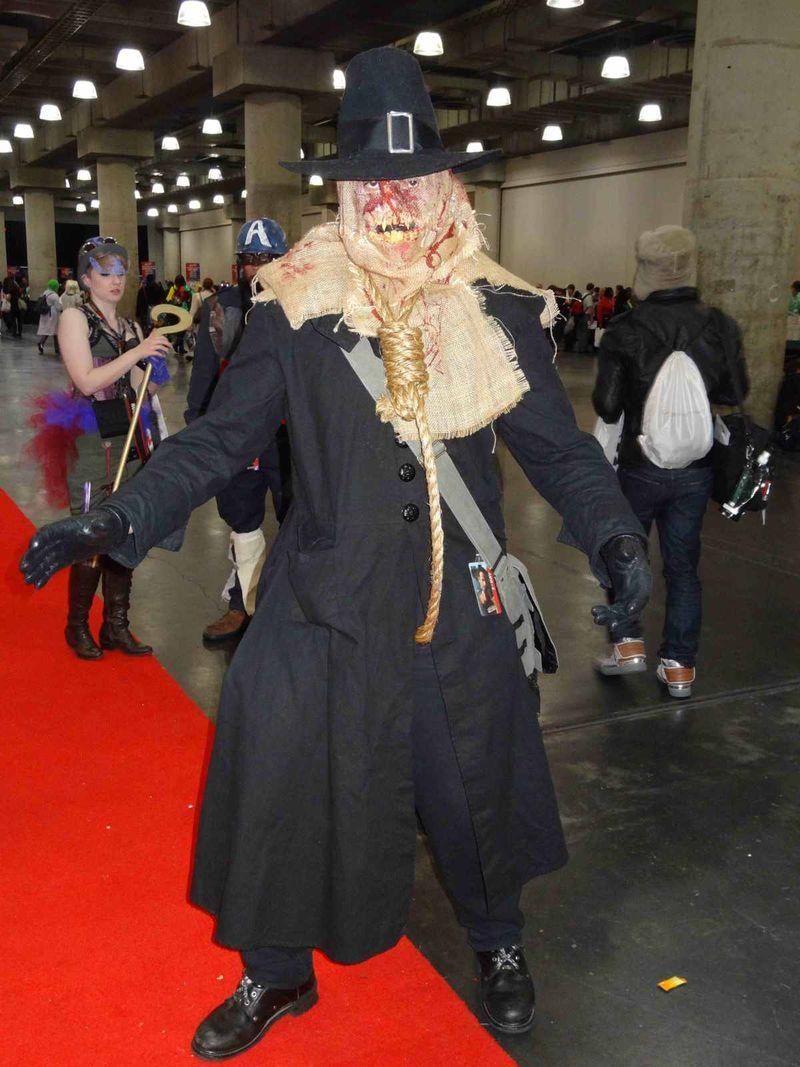 Comic Con nightmare