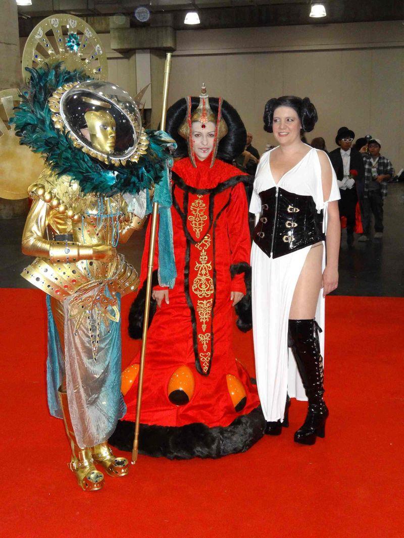 Comic Con elaborate costumes