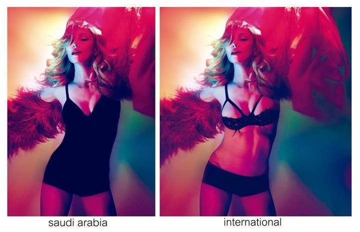 Madonna censored