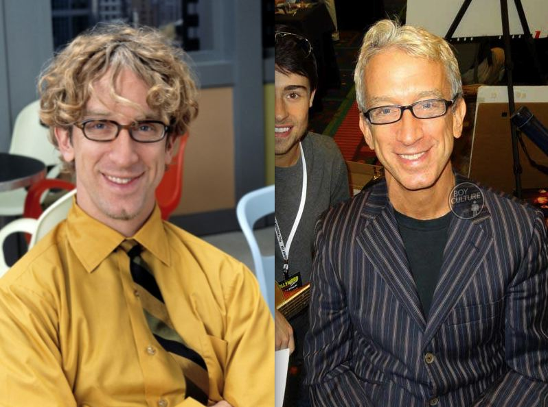 *Andy Dick Then Now