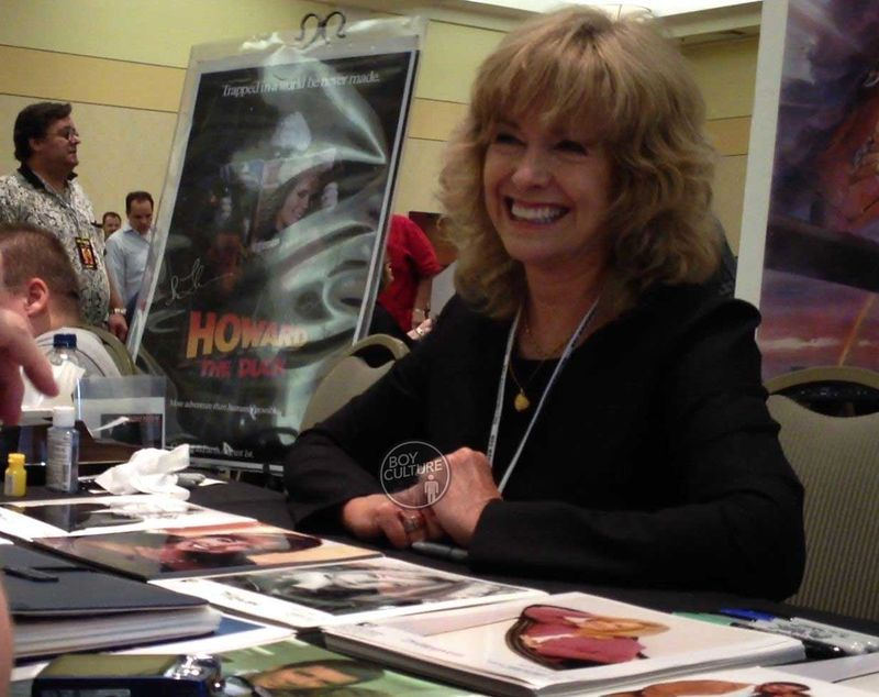 Catherine Hicks signs