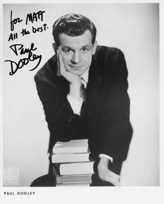 Paul Dooley autograph