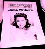 Jane Withers sign