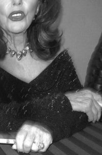 *Joan Collins unflattering